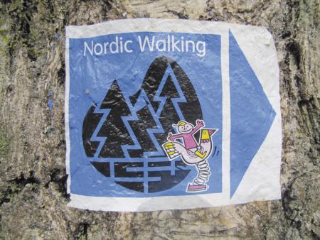 Nordic-Walking Streckenmarkierung
