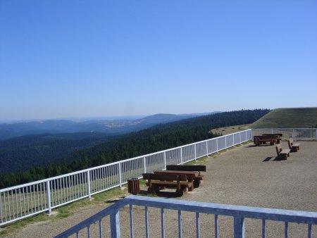 Blick vom Oberbecken