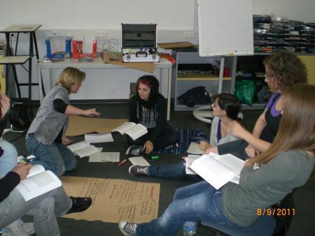 Oberkurs in der Gruppenarbeit