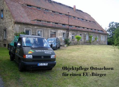 Objektpflege Ostsachsen Herrenhaus 18.Jahrh.