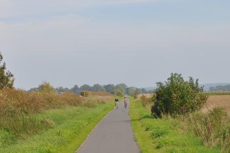 Radweg von Wriezen an die Oder