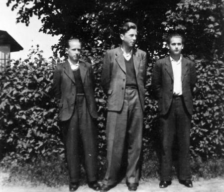 Karl-Heinz Oehlkers, Herbert Meyer und Willi Davids (1944)