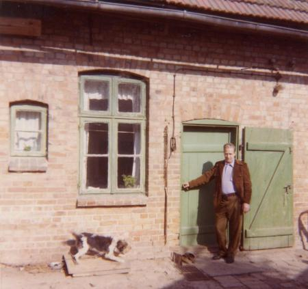Karl-Heinz Oehlkers 1972 zu Besuch bei Familie Liebenow (1)