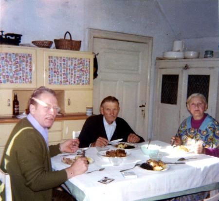 Karl-Heinz Oehlkers 1972 zu Besuch bei Familie Liebenow (2)