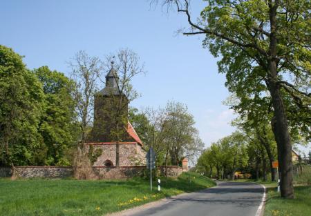 Ortseingang Kleptow