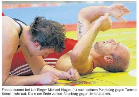 OVZ 2012.09.12 Ringen Bild Oberliga Lok gegen Jena II