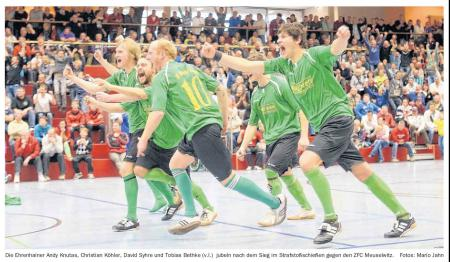 OVZ 2013.01.07 Fussball 16.Neujahrsturnier Bild Ehrenhain