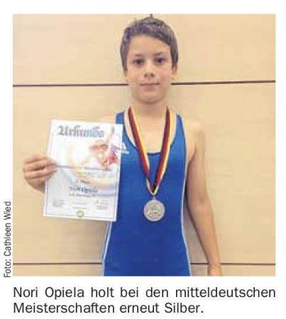 OVZ 2013.06.17 Ringen Nori Opiela verteidigt Vize-Titel Bild