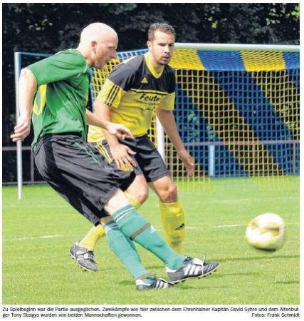 OVZ 2013.08.12 Fussball Sg Motor-Lok I gewinnen Saisonauftaktspiel gegen Ehrenhain Bild
