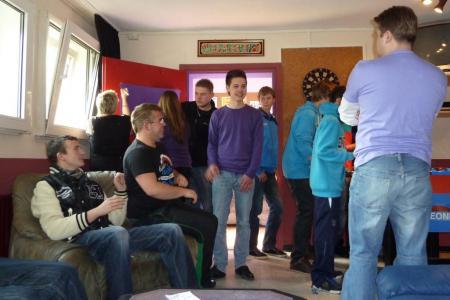 Bis zu 30 Besucher kamen zum Tag der offenen Tür!