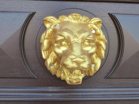 Löwenkopf am Rautenstock