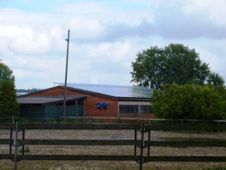 Gestüt Konzag mit Solaranlage