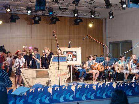 Aufführung Chor / Band Klasse 5/6, Sommer 2013