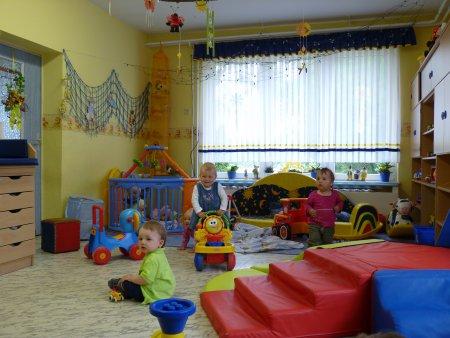Gruppenraum für die Kleinen