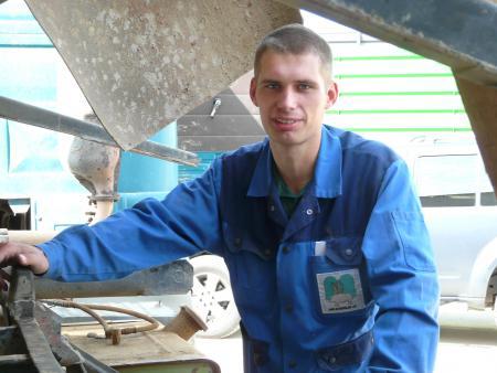 Steve Noack, Leiter Pflanzenbau