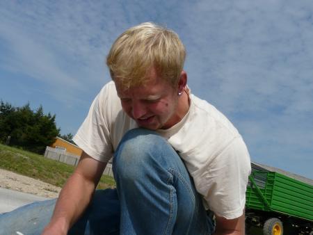 Jens Koch von unserem Bautrupp