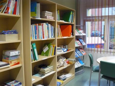 Bibliothek und Medienraum