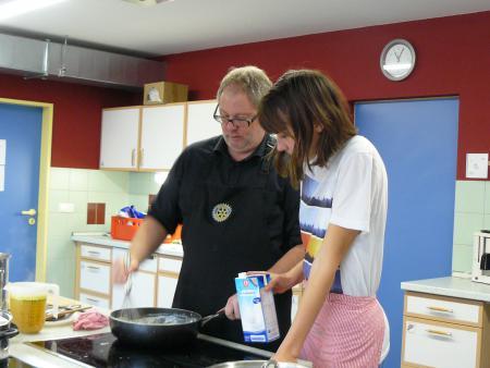 Kochen mit Profis