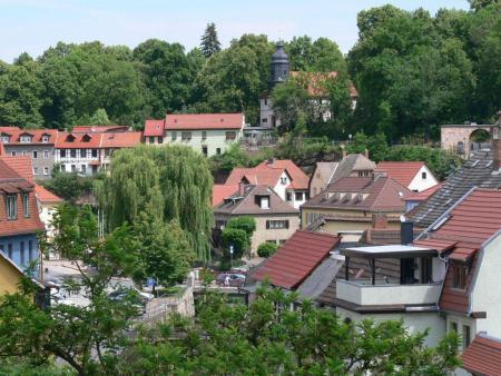 Blick auf Stadtroda