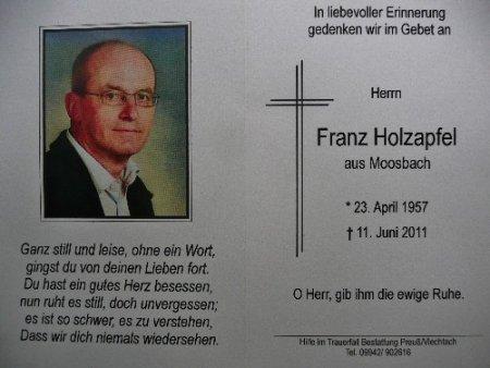 Xaver Holzapfel