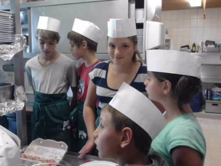 Beim Italiener in der Küche