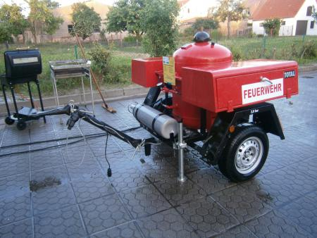 Feuerwehranhänger Pulver 2