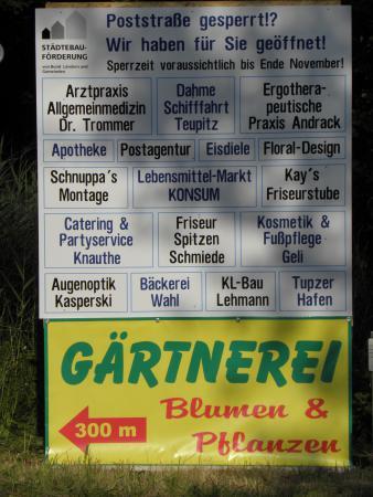 Läden am Markt Teupitz