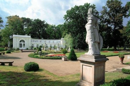Park mit Orangerie