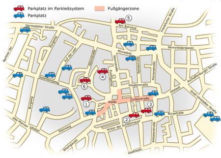 Parken in Dieburg
