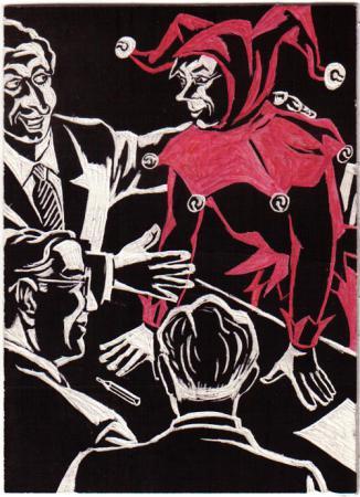 Vignette von Harri Parschau 1954