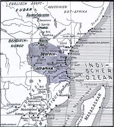 Carl Peters Kolonie Dt.Ostafrika