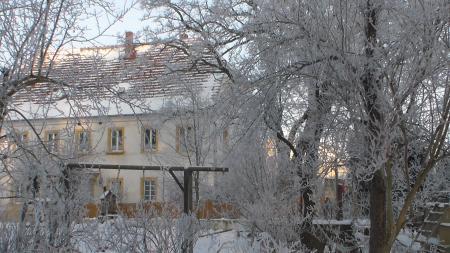 Pfarre Bo im Winter