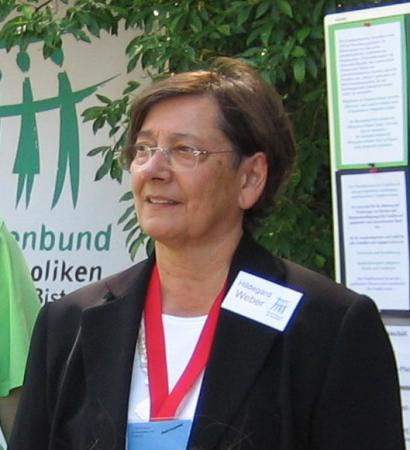 Portrait Vorsitzende Hildegard Weber