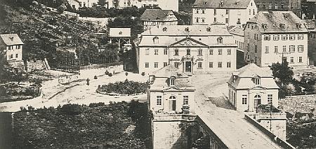 Postplatz vor 1935
