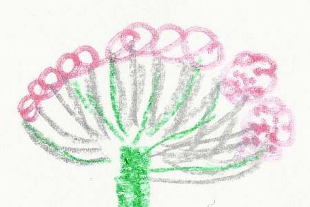 Pusteblume gemalt von Josefine Alexa