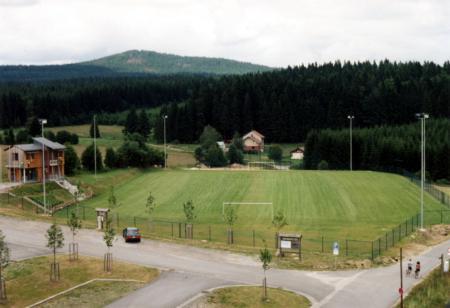 Rasenspielfeld