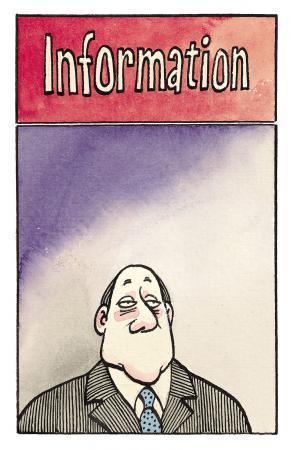 Karikatur von Reiner Schwalme 1987