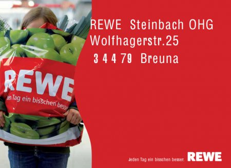 REWE-Markt in Breuna
