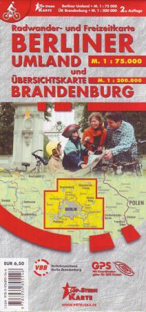 Radkarte Berliner Umland