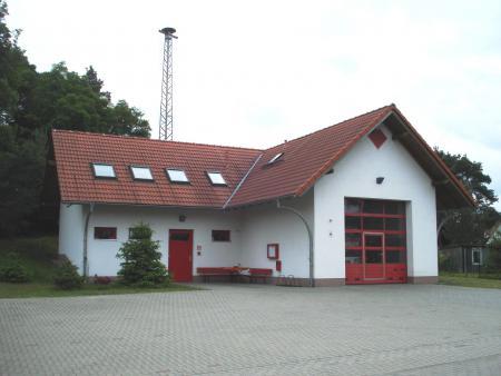 Feuerwehrgerätehaus Ortsteil Rießen
