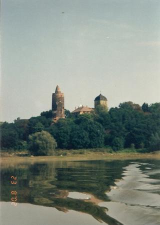 Roter Turm und Schloss