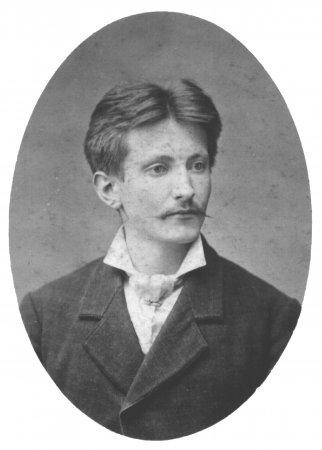 Emil Rothenhäuser als Geselle in München