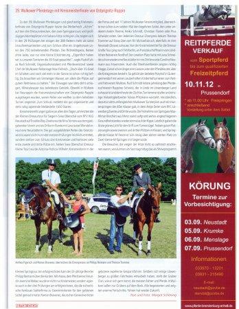 Reiten & Zucht 09.2012