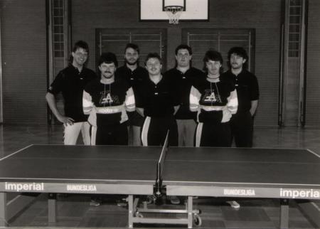 Tischtennis Gründungsmannschaft