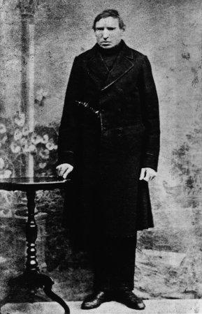 Schmiedemeister Johann Salchow, um 1870