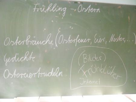 Ostern - Frühling Kl. 3/4