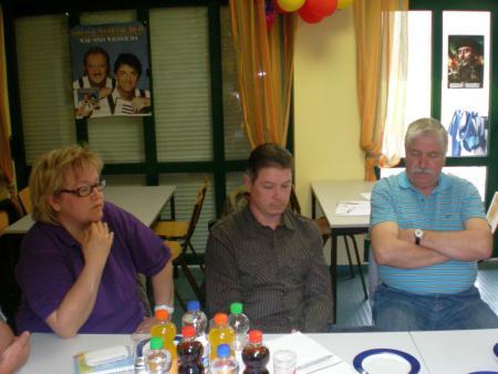 Tagungsteilnehmer der SG Fortuna Leißling