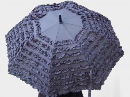 SchirmschwarzRüschen