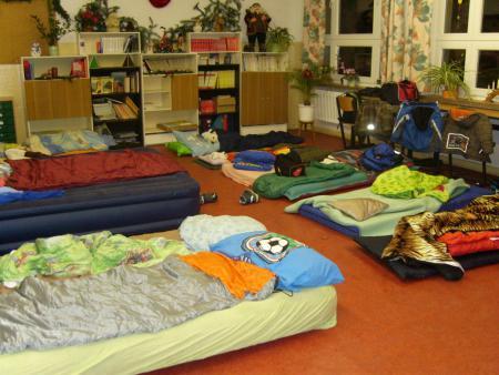 Schlafplätze Jungen