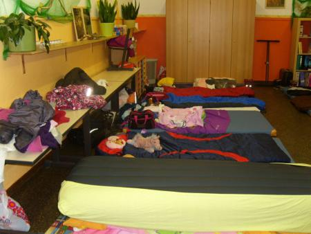 Schlafplätze Mädchen